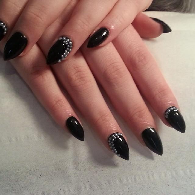 24 short stiletto nail art designs ideas design trends