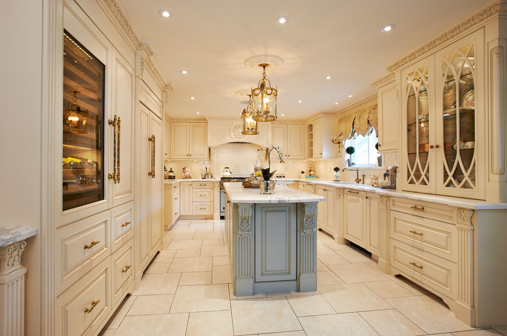 20 luxury kitchen designs decorating ideas design trends for Traditional kitchen remodel ideas