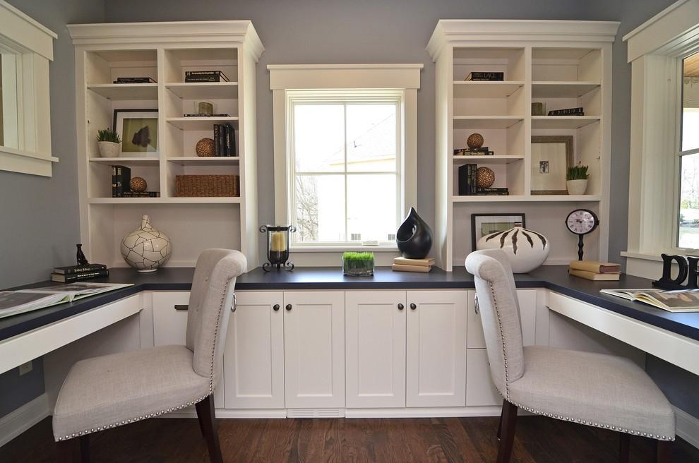 Cool Built In Home Office Ideas Edeprem Com Largest Home Design Picture Inspirations Pitcheantrous