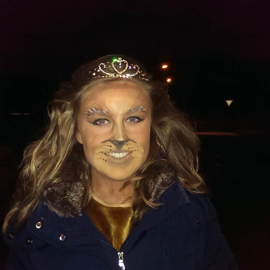 Prince Lion Makeup For Women