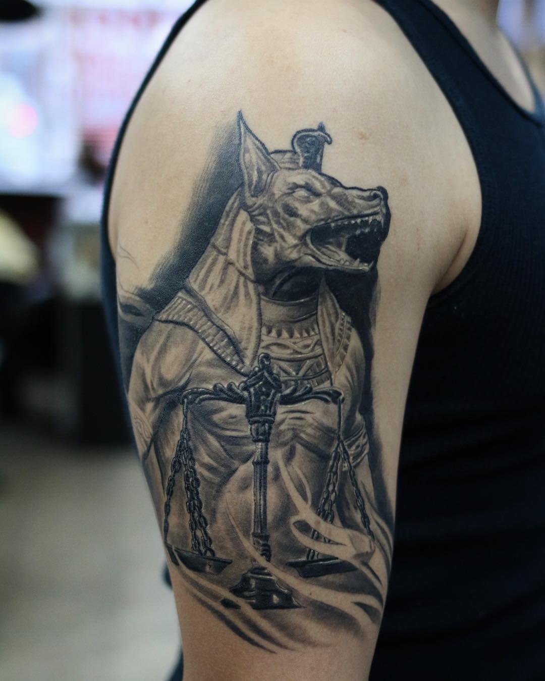 Designs Half Sleeve Tattoo Fox For Men