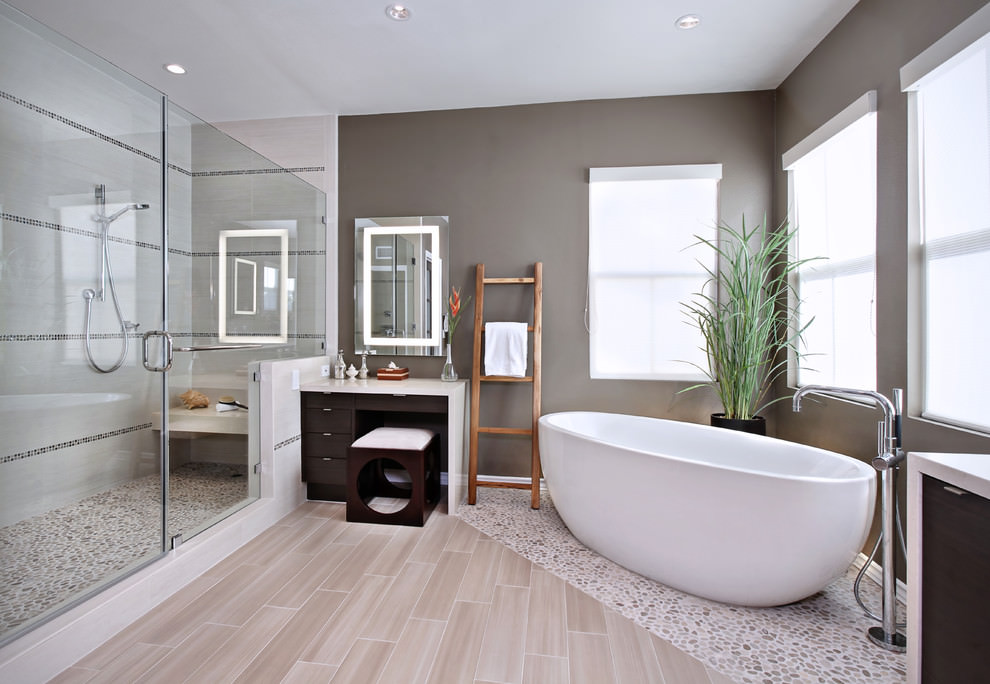 22 Nature Bathroom Designs Decorating Ideas Design Trends