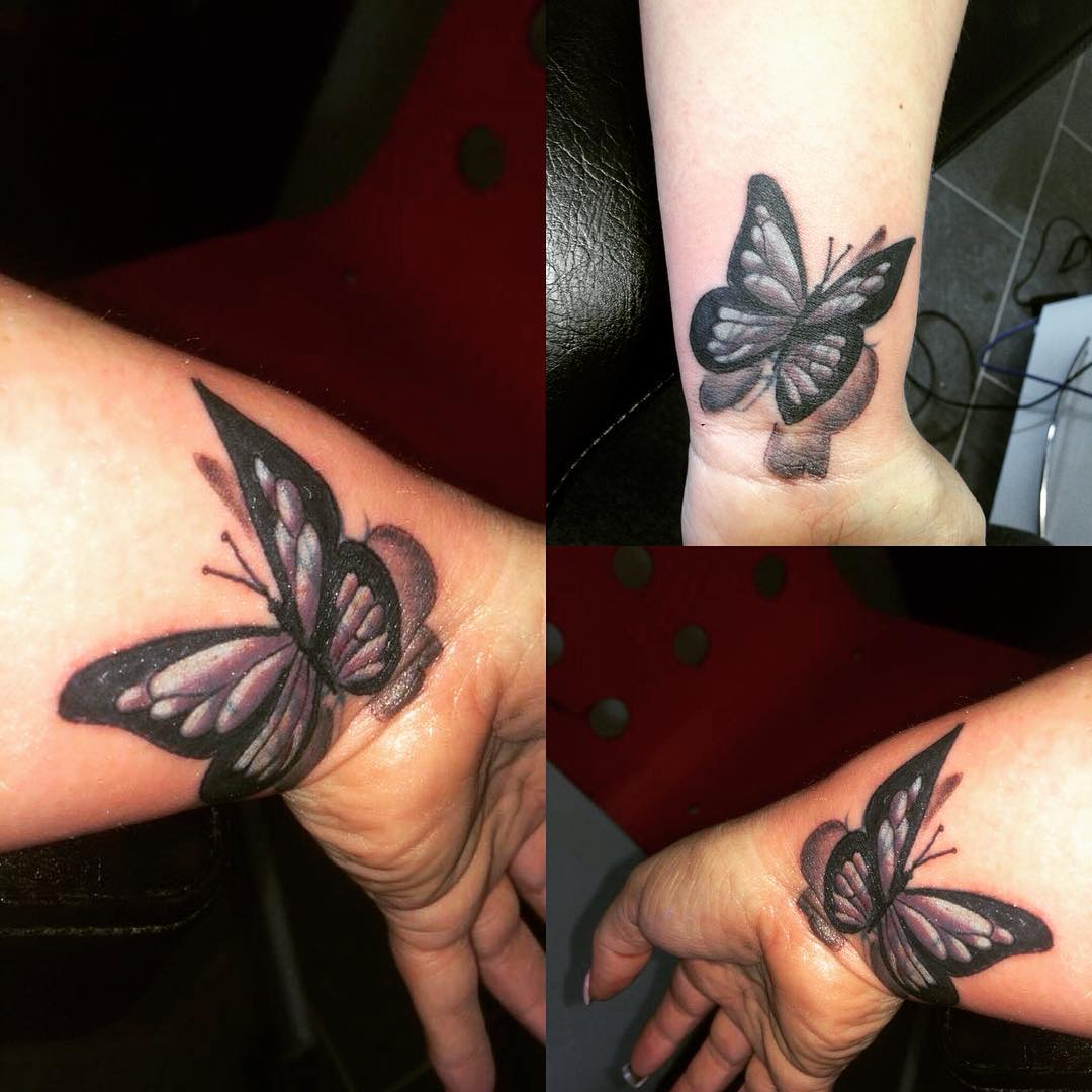 Black butterfly tattoos designs for Black tattoo designs