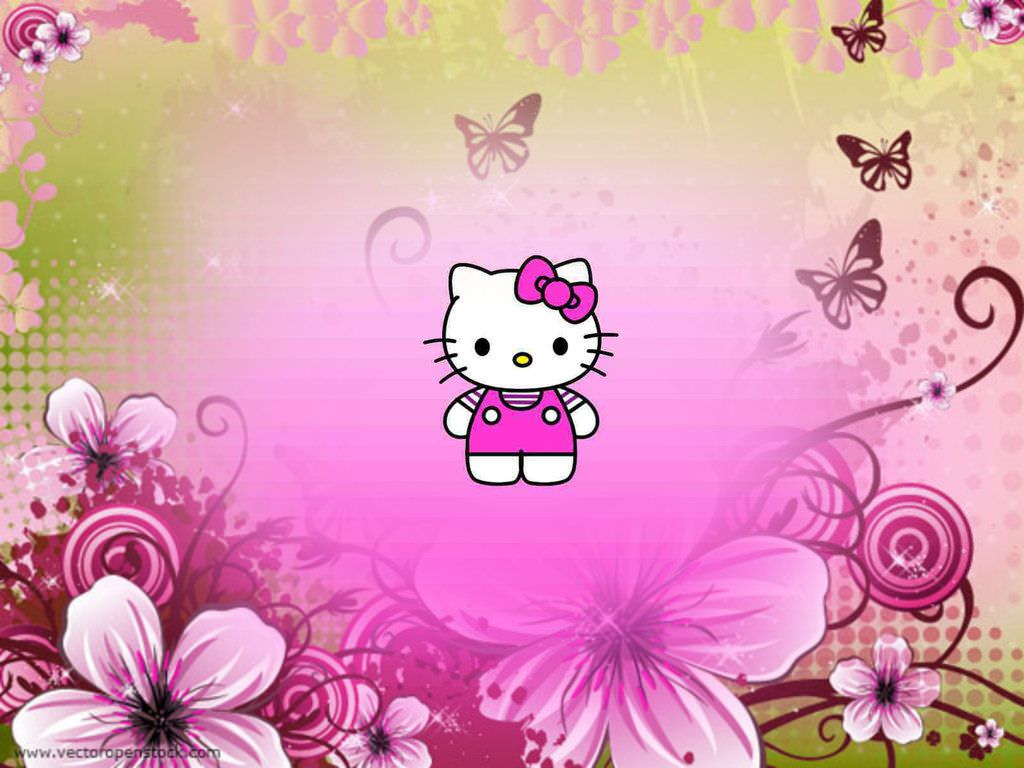 30 Hello Kitty Backgrounds Wallpapers Images Design