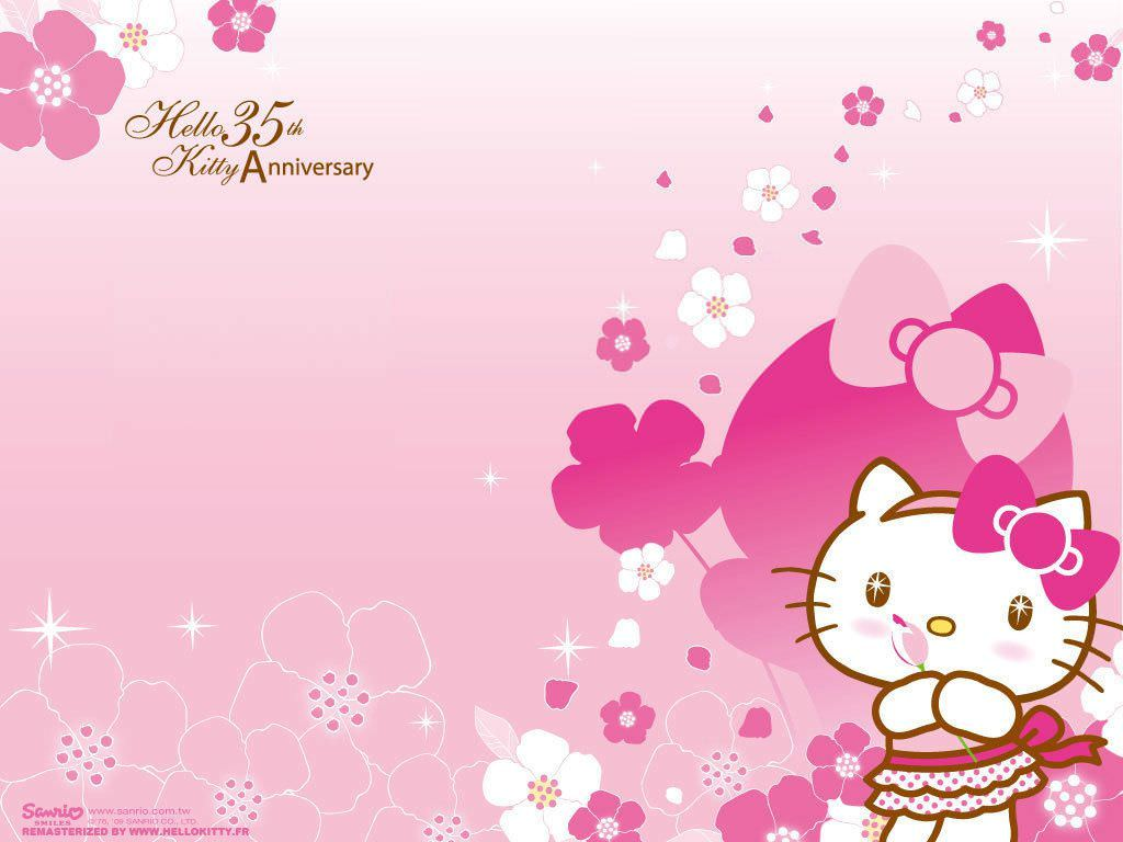 30+ Hello Kitty Backgrounds, Wallpapers, Images | Design