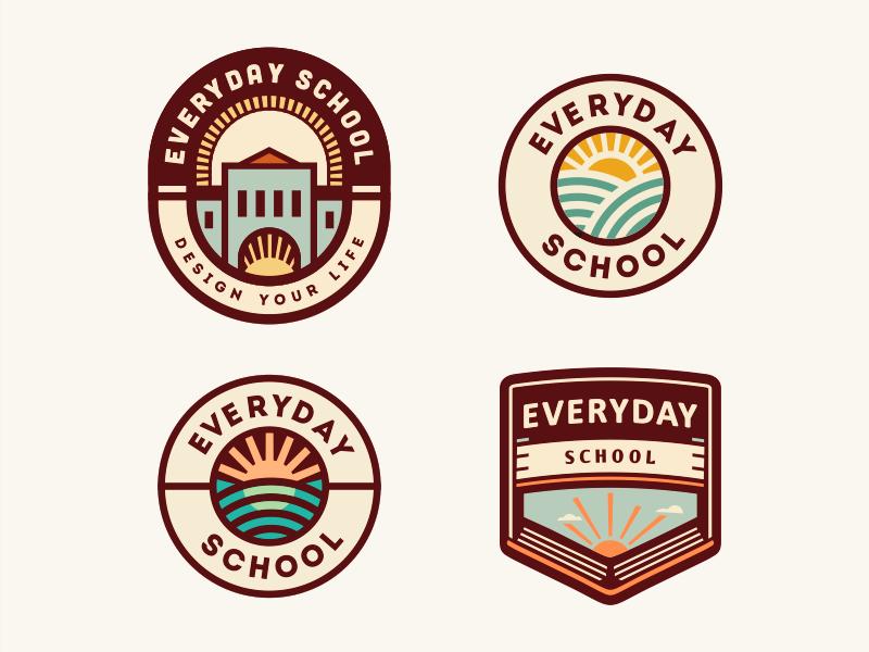 School logo design