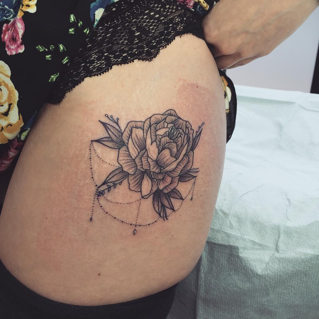 Best 25 Back Lower hip tattoo pictures
