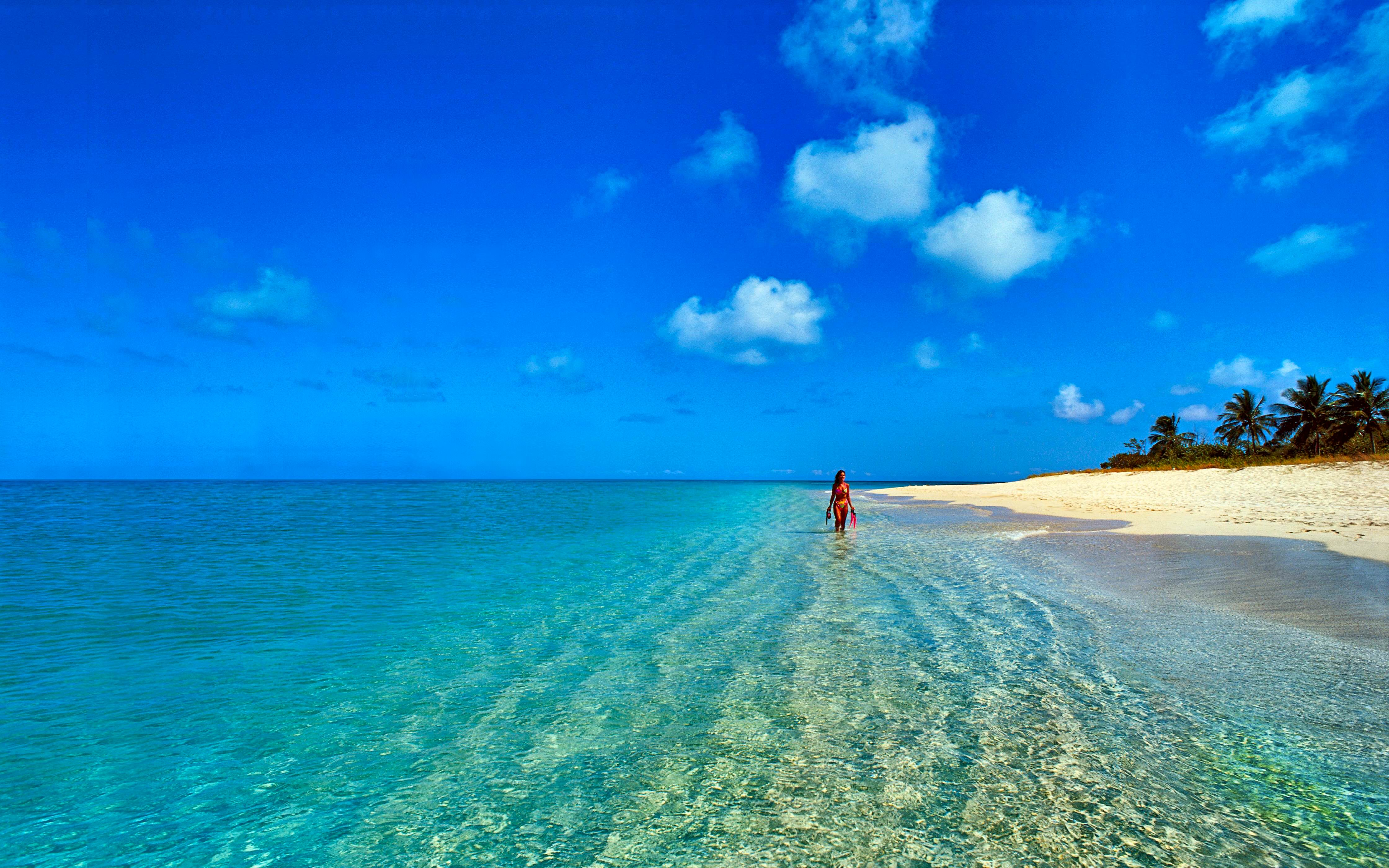 Beautiful ocean views beaches are mistaken