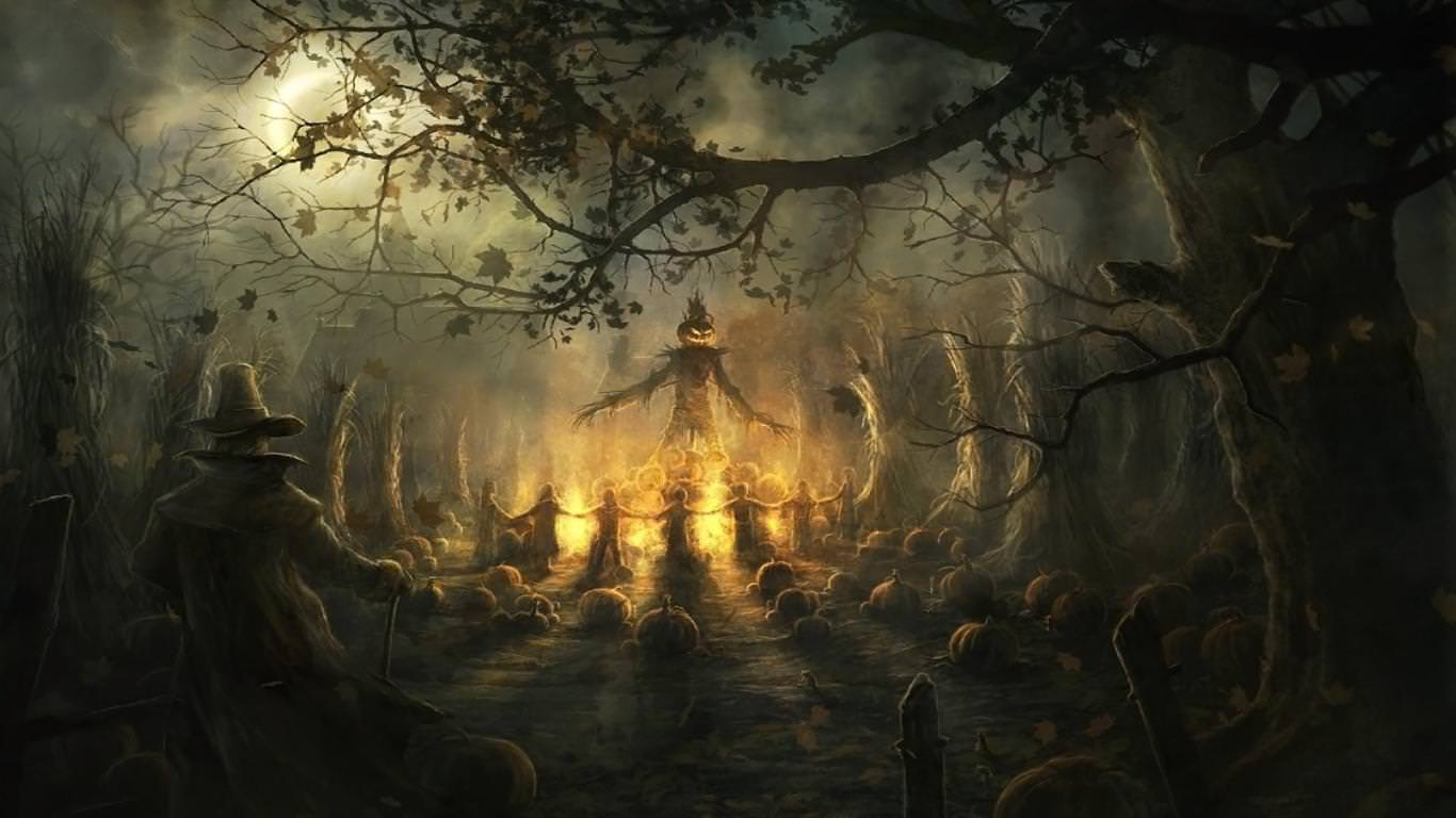 Halloween Design Wallpaper : Scary backgrounds wallpapers images pictures