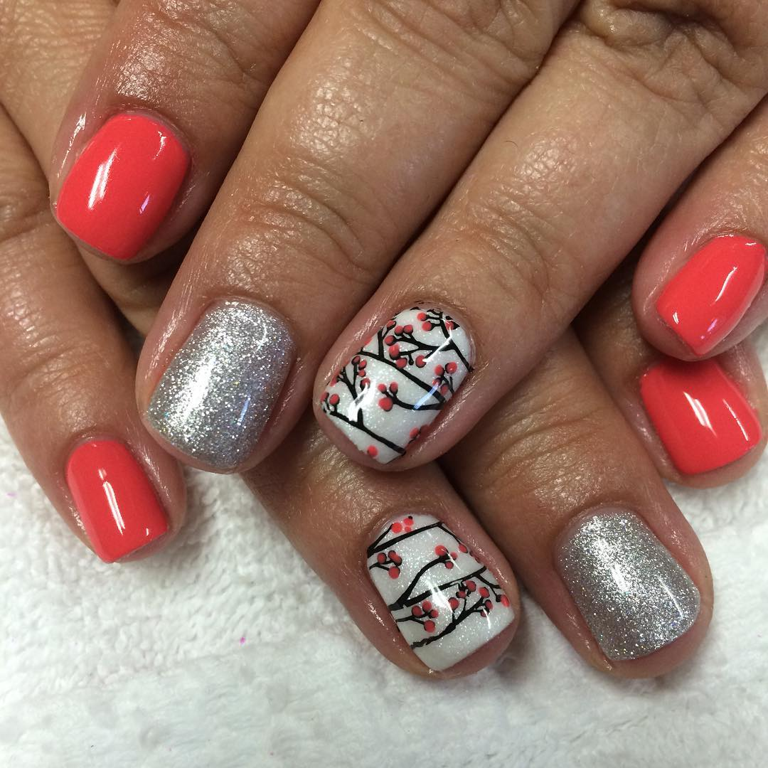 Acrylic nail designs beach 2017 2018 best cars reviews for Acrylic nail decoration