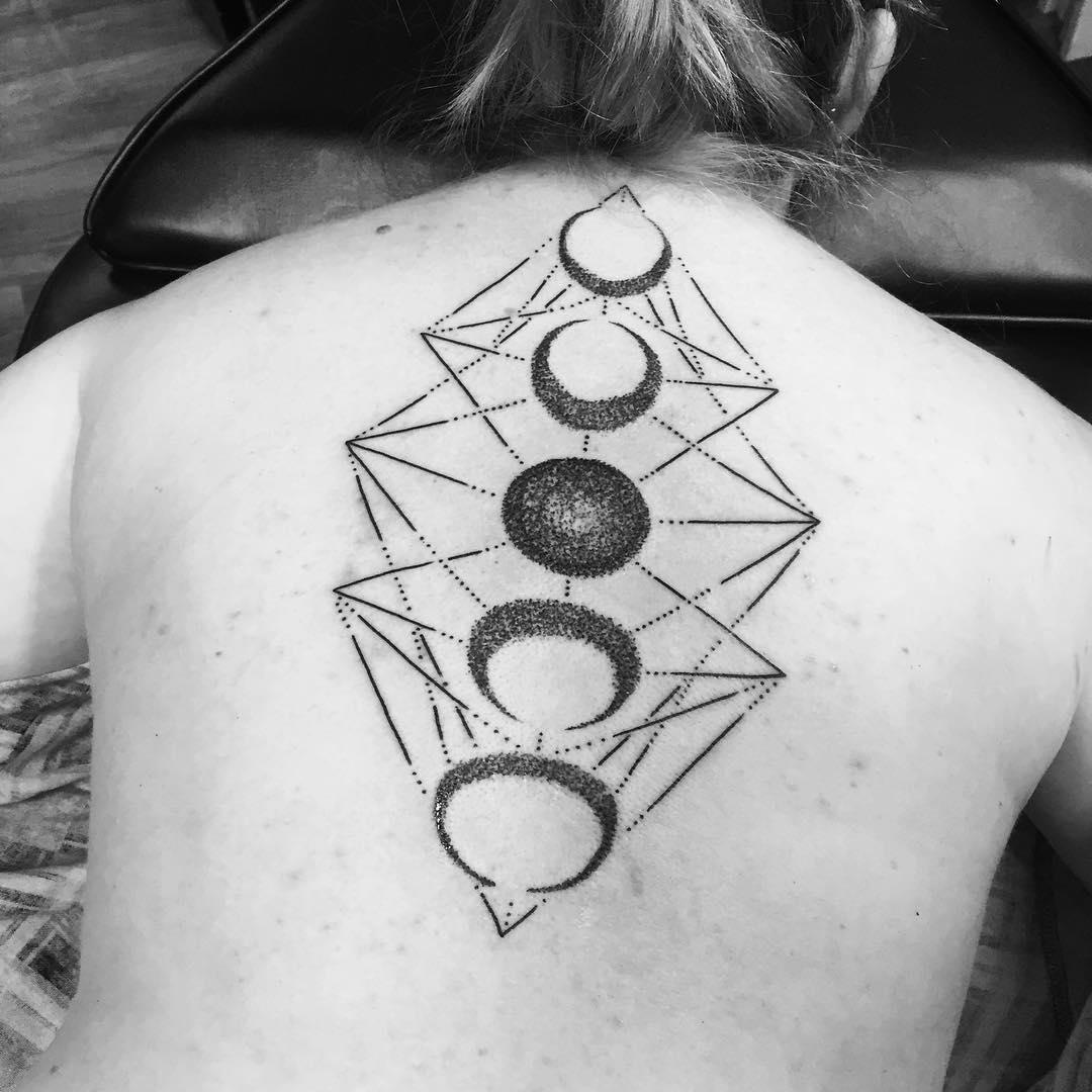 27  Moon Tattoo Designs Ideas Design Trends