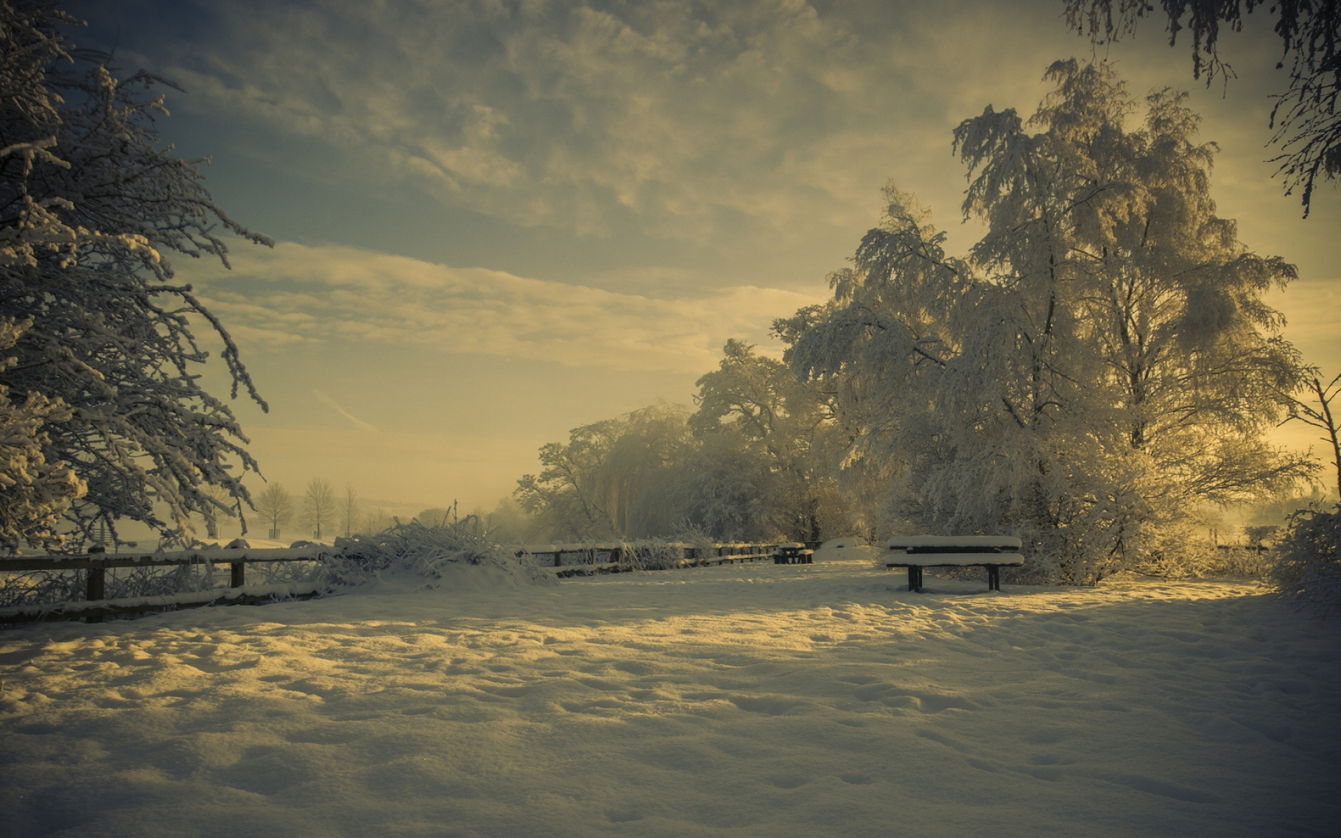 30+ Beautiful Winter Wallpapers, Backgrounds, Images