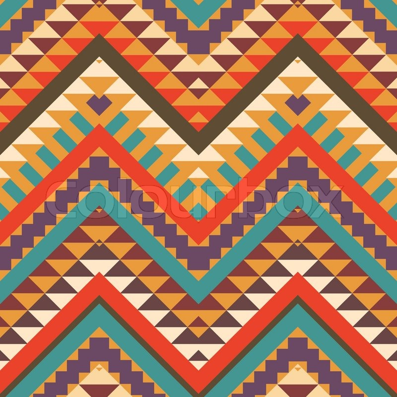 27 best aztec patterns wallpapers design trends for Popular wallpaper patterns