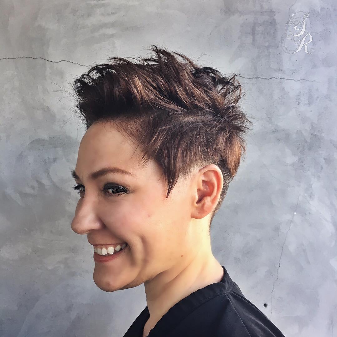 Tremendous Short Funky Hairstyles For Women Short Hairstyles For Women And Man Hairstyles For Women Draintrainus