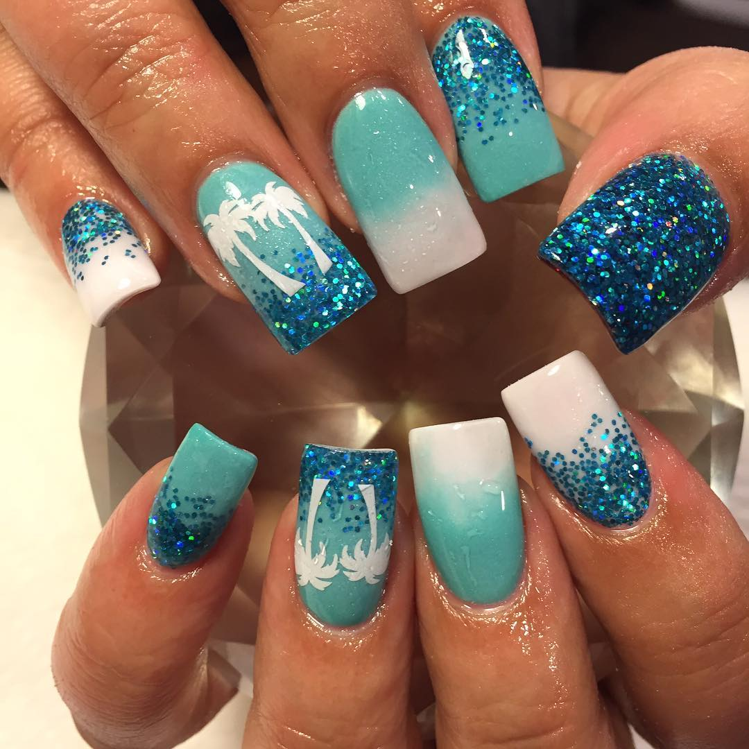 ... Small Nail Salon Designs likewise Blue And Turquoise Living Room. on