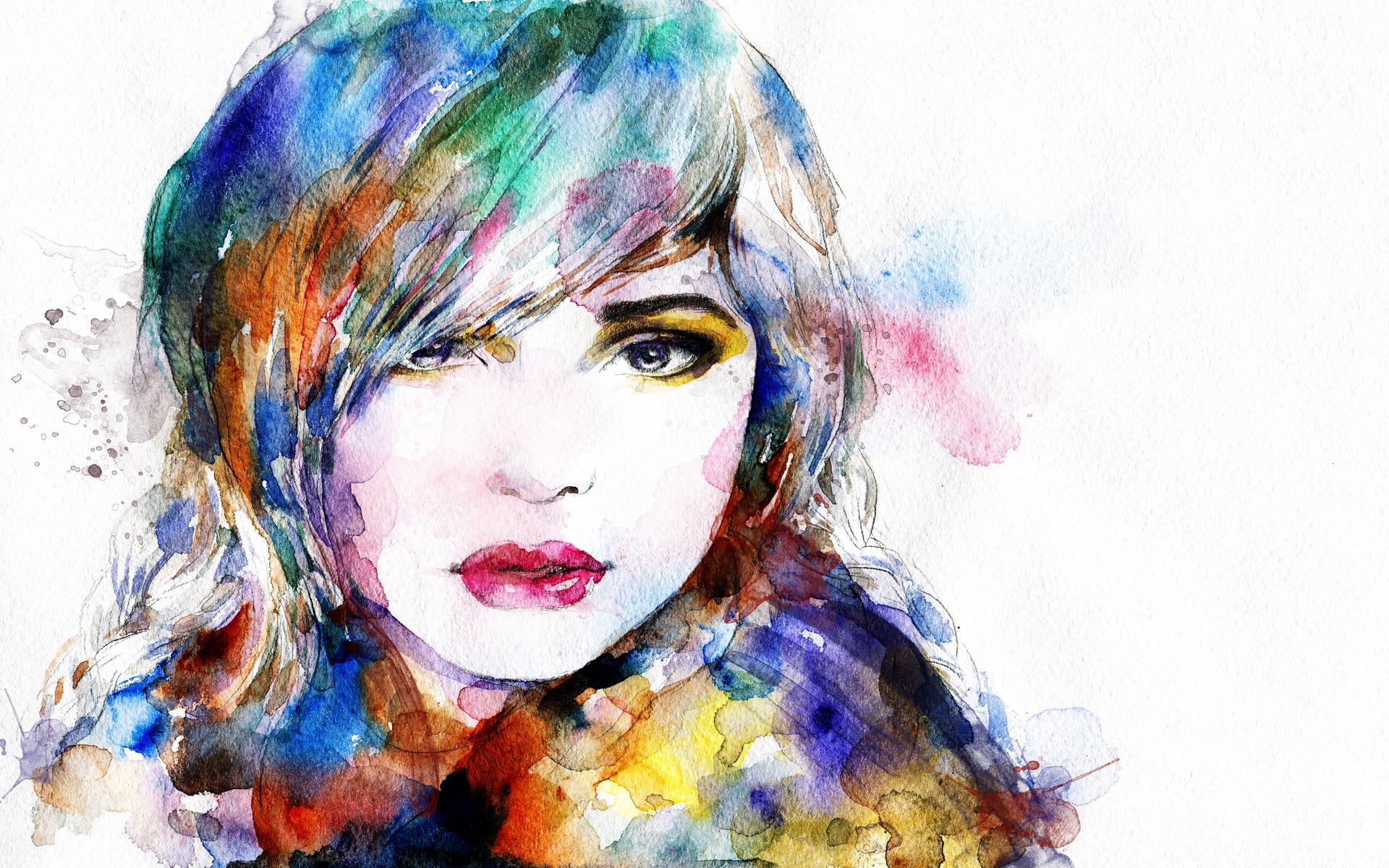 Girl Oil Painting