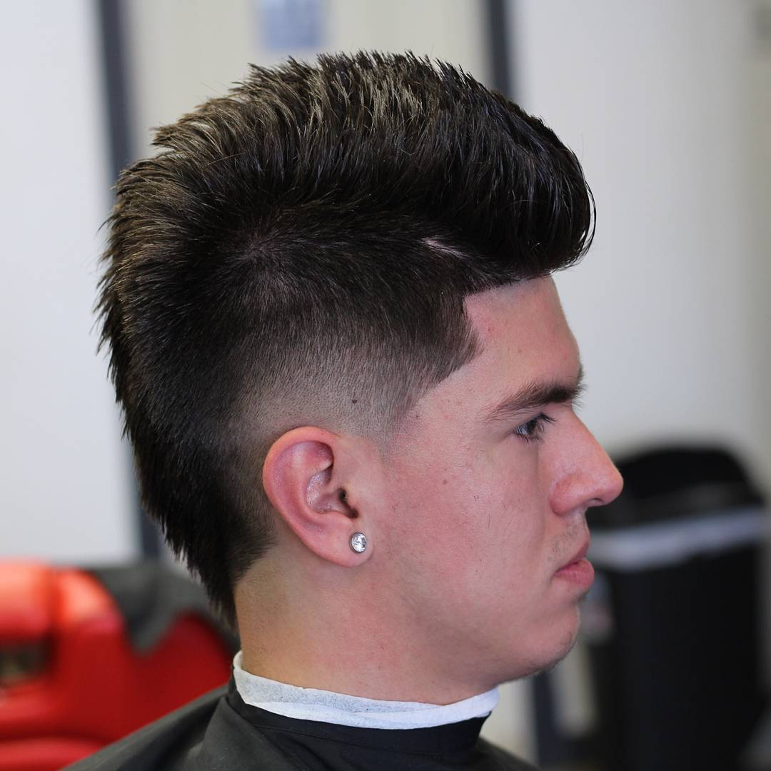Best Fohawk Haircut Styles Menhairstylist