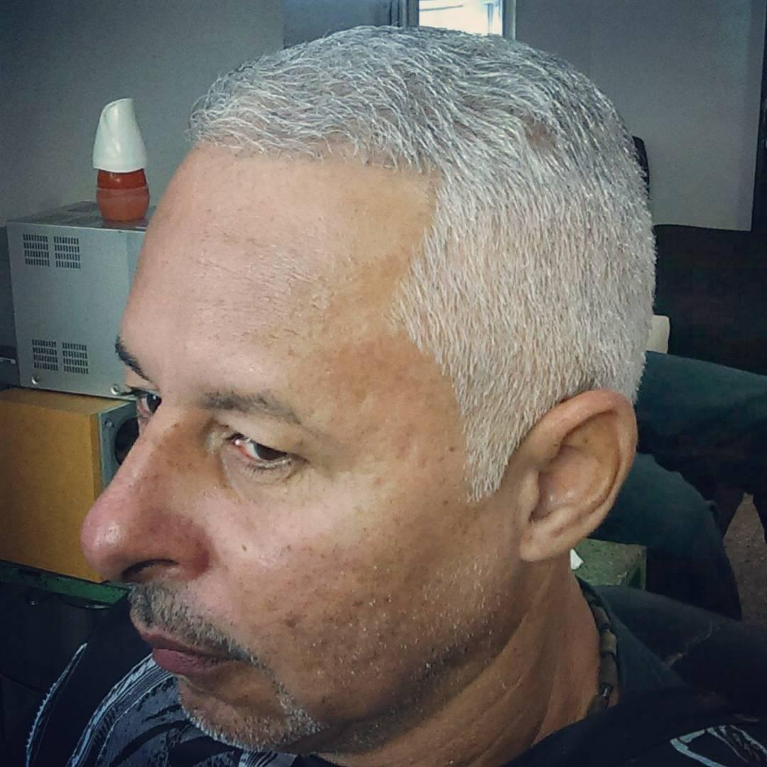 White Men Fade Haircut Designs