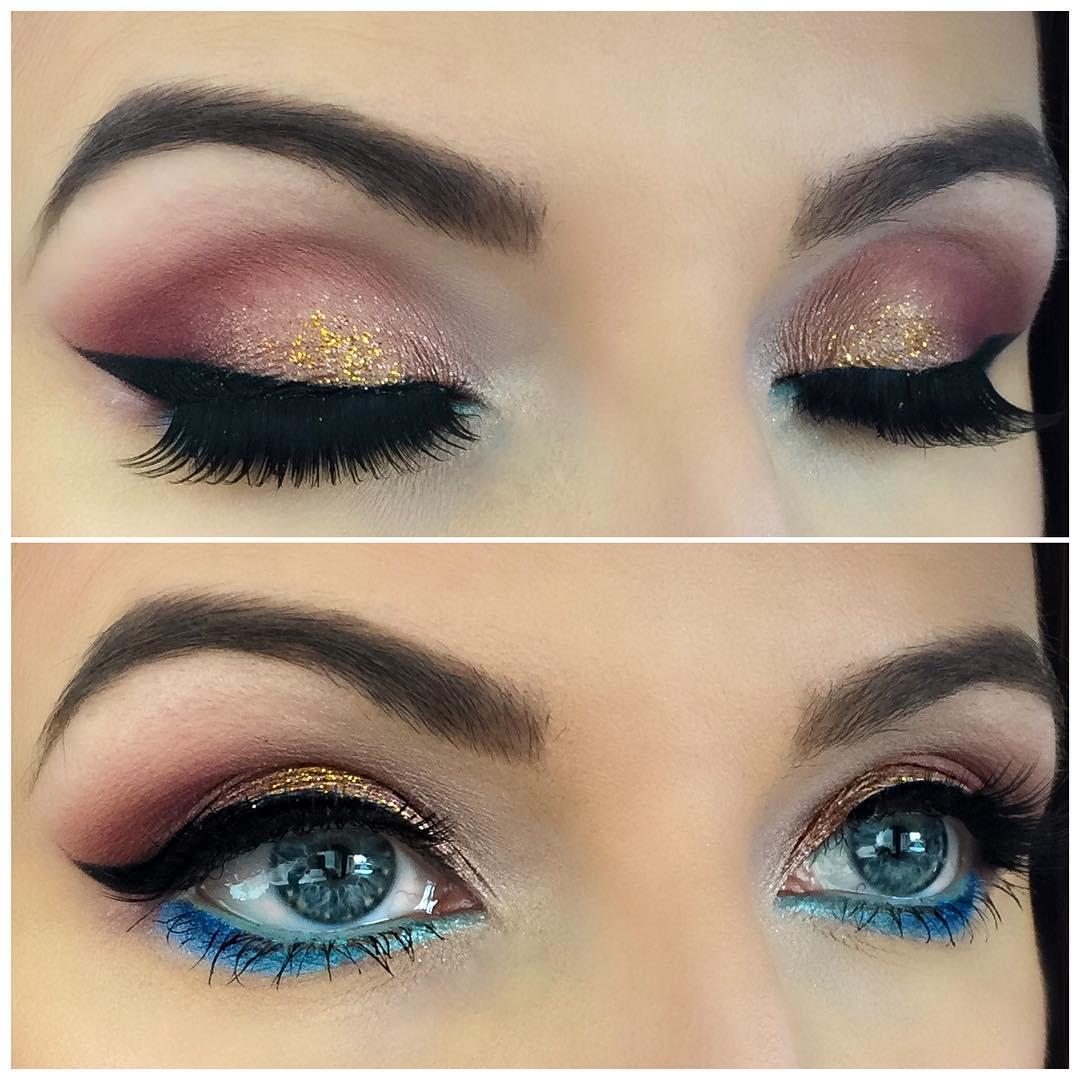 Eye makeup designs