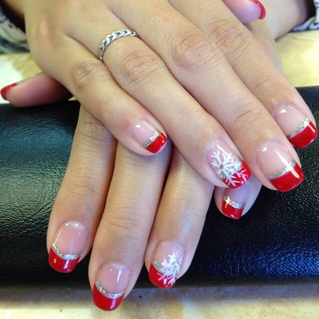 French nail designs how to