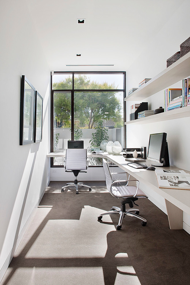 Very Small Office Looks So Pretty - 48+ Small Home Office Space Design Ideas  Pics