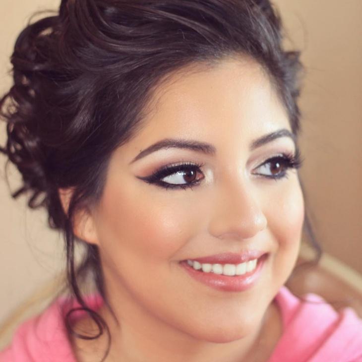 Quinceanera makeup