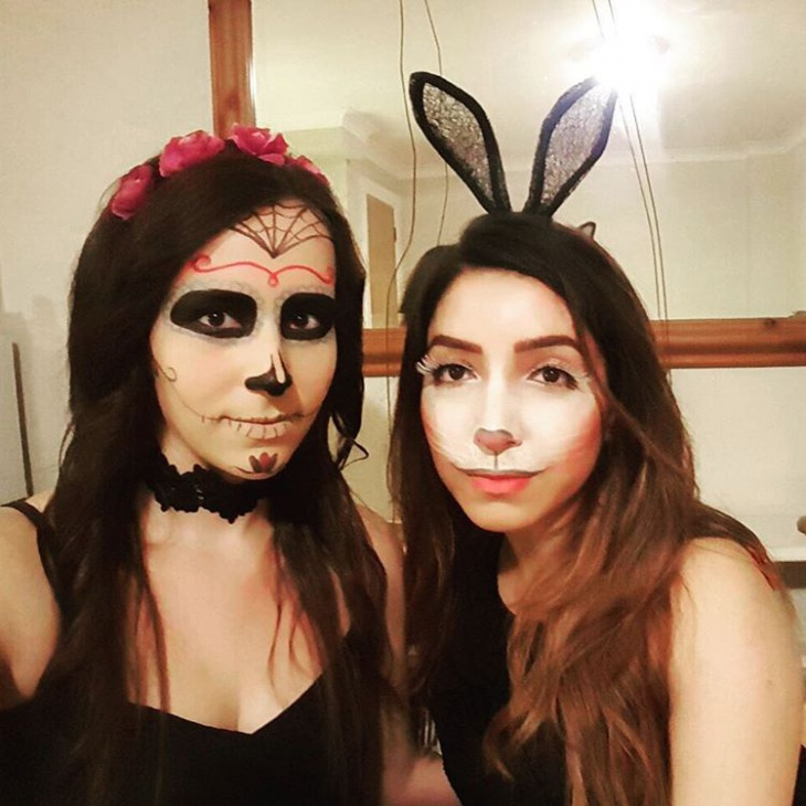 Rabbit makeup