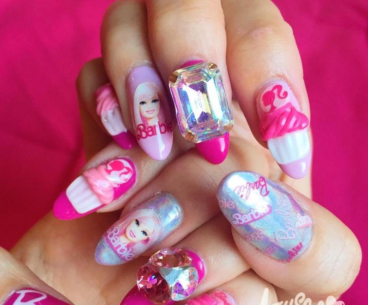 Barbie nail art games to play choice image nail art and nail barbie nail polish set games nail art ideas and barbie nail polish salon design pictures prinsesfo prinsesfo Choice Image