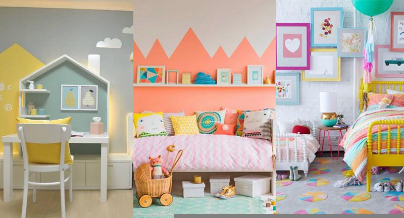 Nice Crisp And Colorful Kids Room Designs