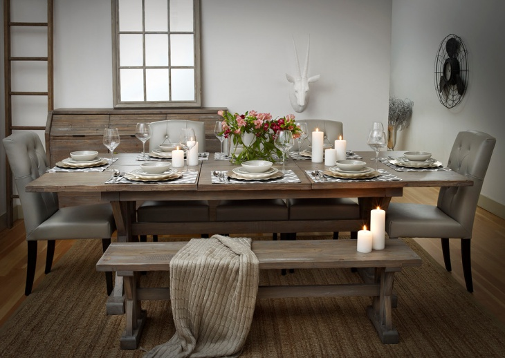 Rustic Urban Dining Room Design