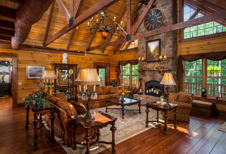 19 rustic living room designs decorating ideas design for Rustic living room interior design