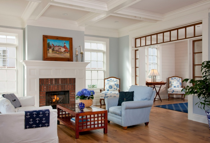 Light Blue Living Room Furniture