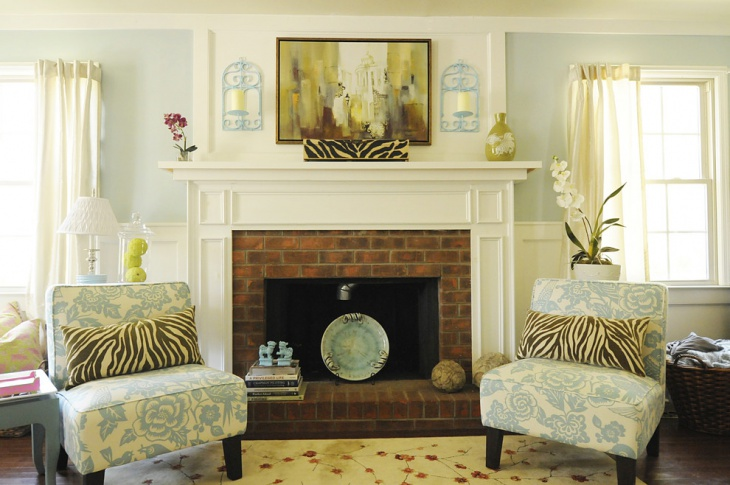 Leopard Print Living Room Decor
