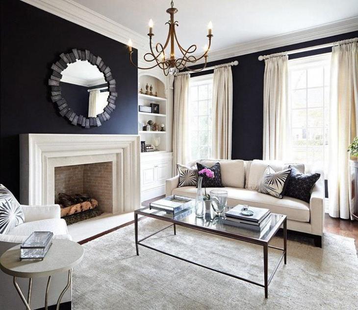 Simple Black Living Room Design Part 67