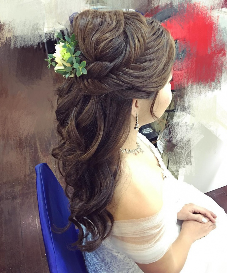 Bridal Korean Hairstyle
