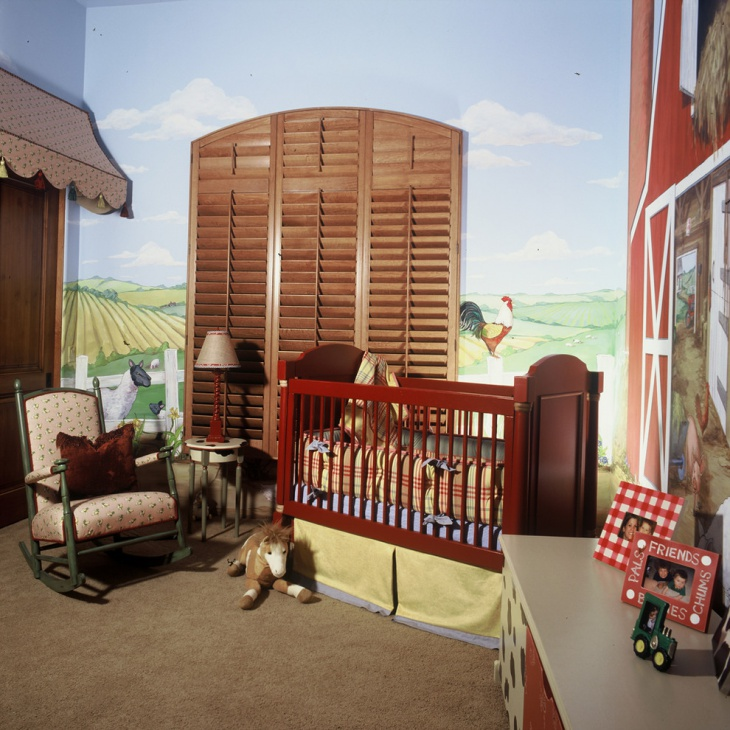 Hard Wood Baby Room Furniture