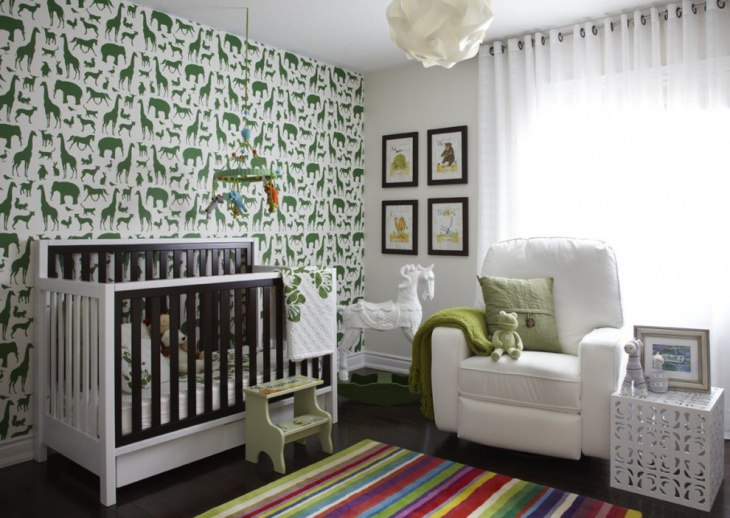 Baby Room White Furniture Design