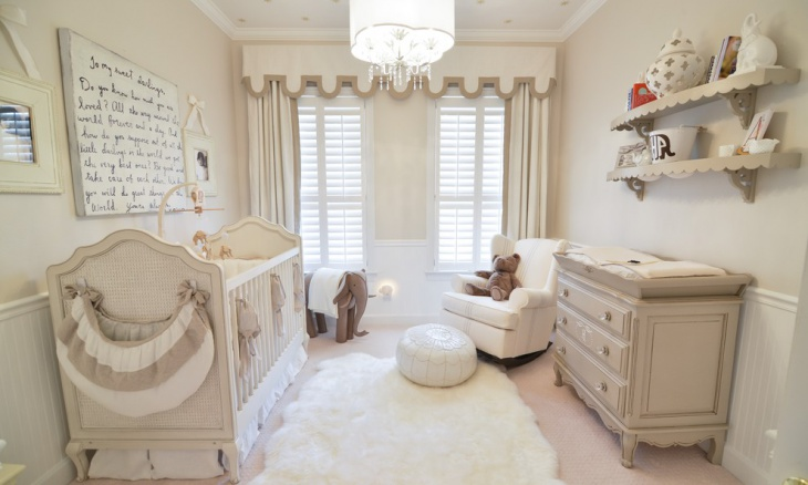 Baby Room Interior Furnishing Idea