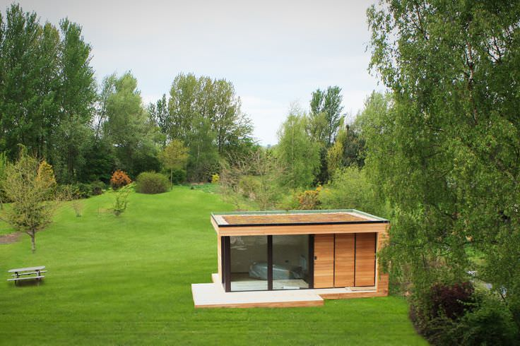 Garden Contemporary Shed and Building Design