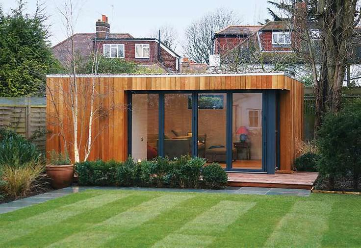 Glass Contemporary Garden Shed and Building Design