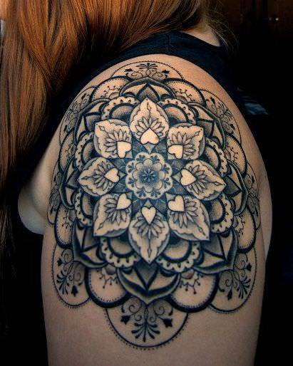 Mandala Tattoo Design As Spiritual