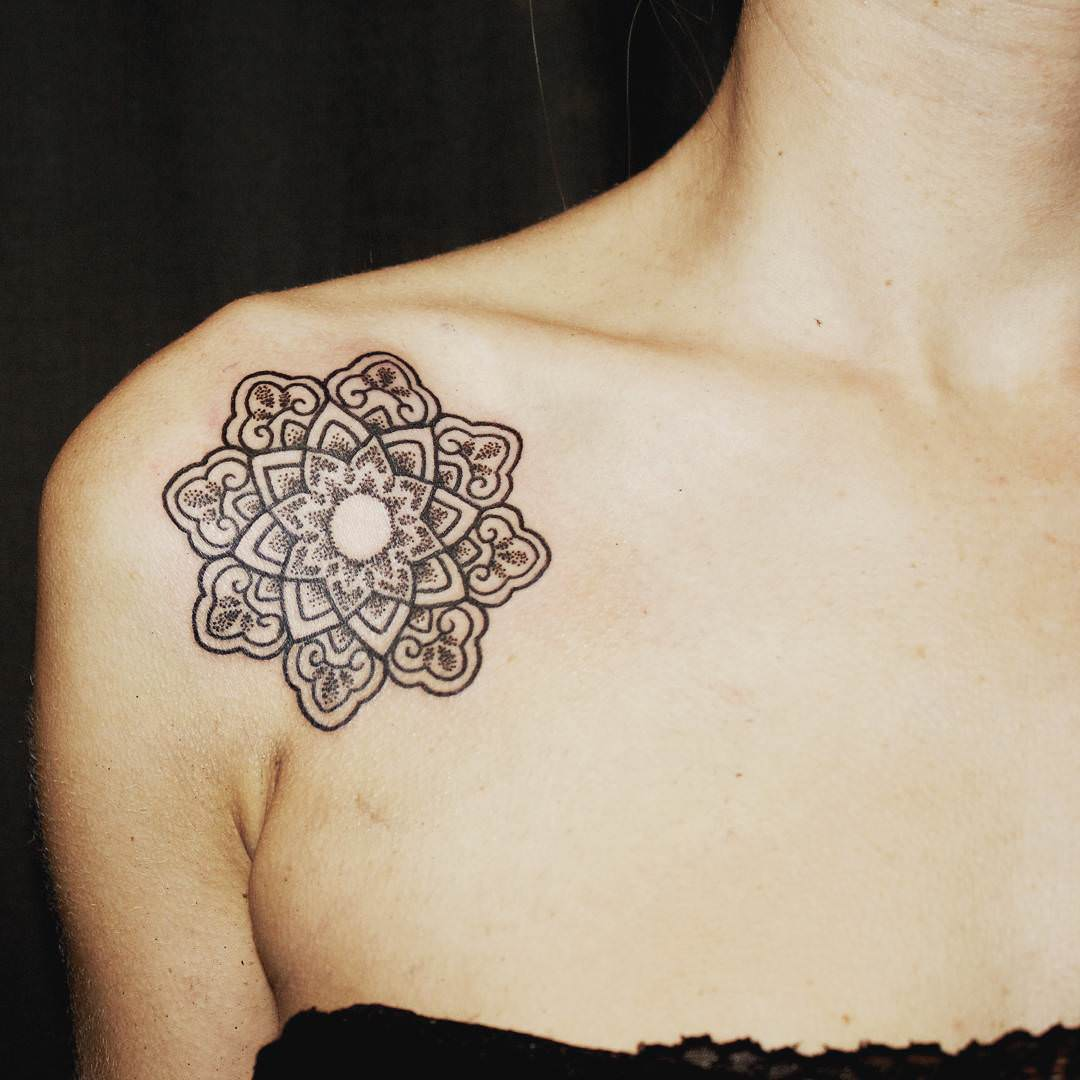 140 mandala tattoo designs ideas design trends for Tattoo design in shoulder