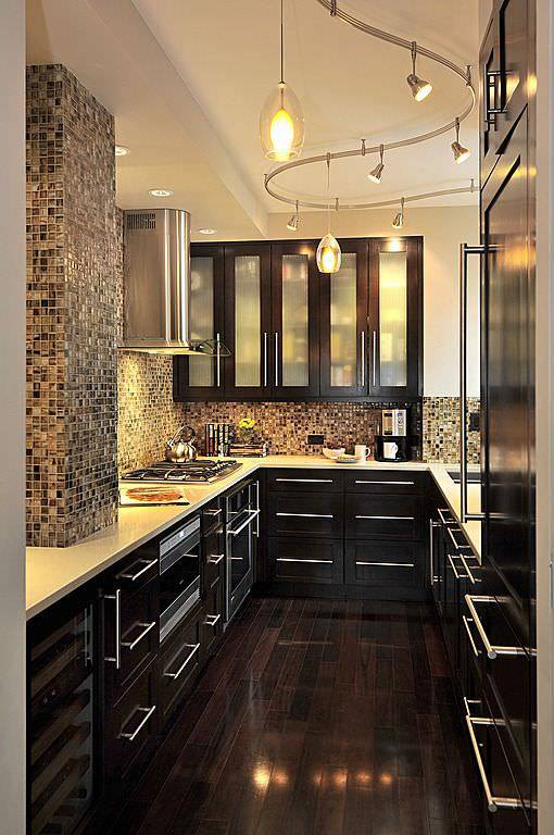34 u shaped kitchen designs kitchen designs design trends for Modern u shaped kitchen designs