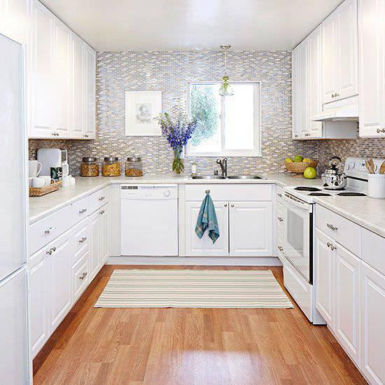 34+ U Shaped Kitchen Designs