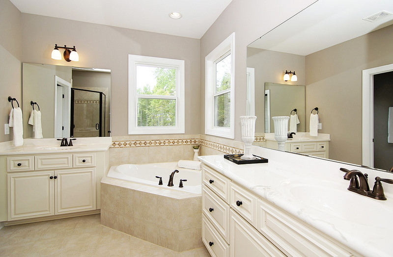 Ceiling White Bath Rooms Design