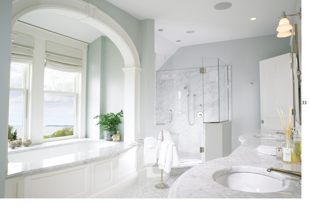 Collaborative White Bath Rooms Design
