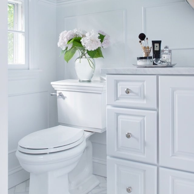 Diy White Bath Rooms Design