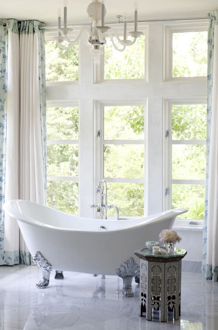 love windows White Bath Rooms Design