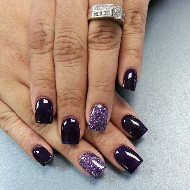 Dark Fall Nail Designs