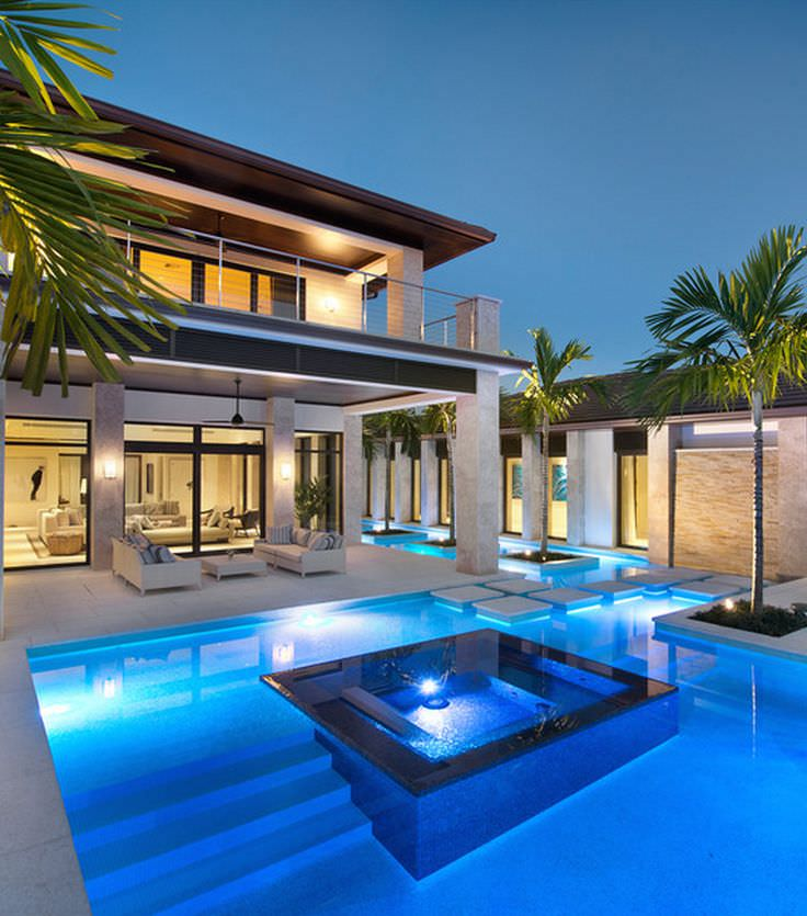 Luxury Home Design: 30+ Modern Swimming Pool Designs